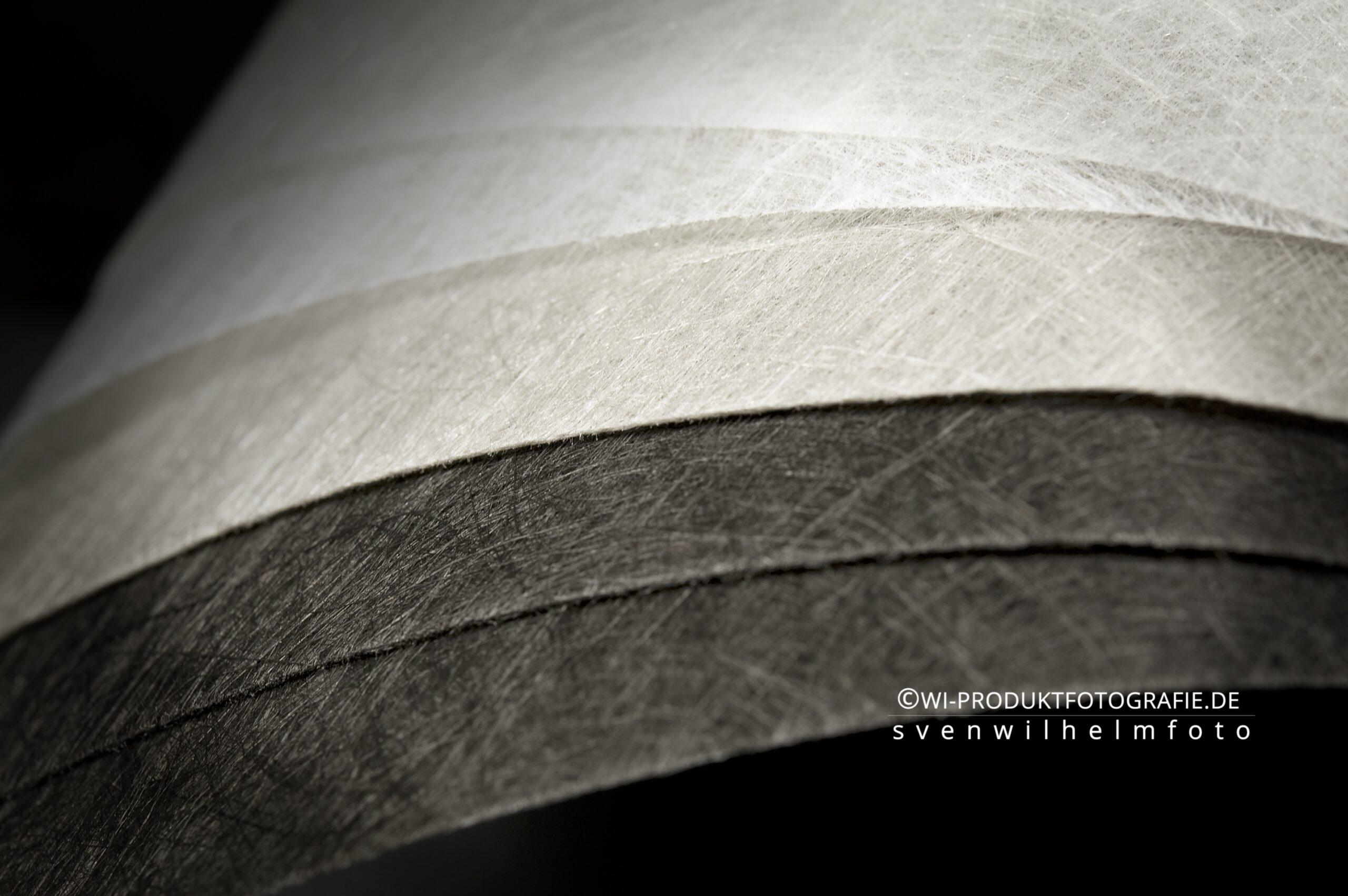 Das Produktfoto Produktfotografie Vliessstoffe Industrie Garne Fasern