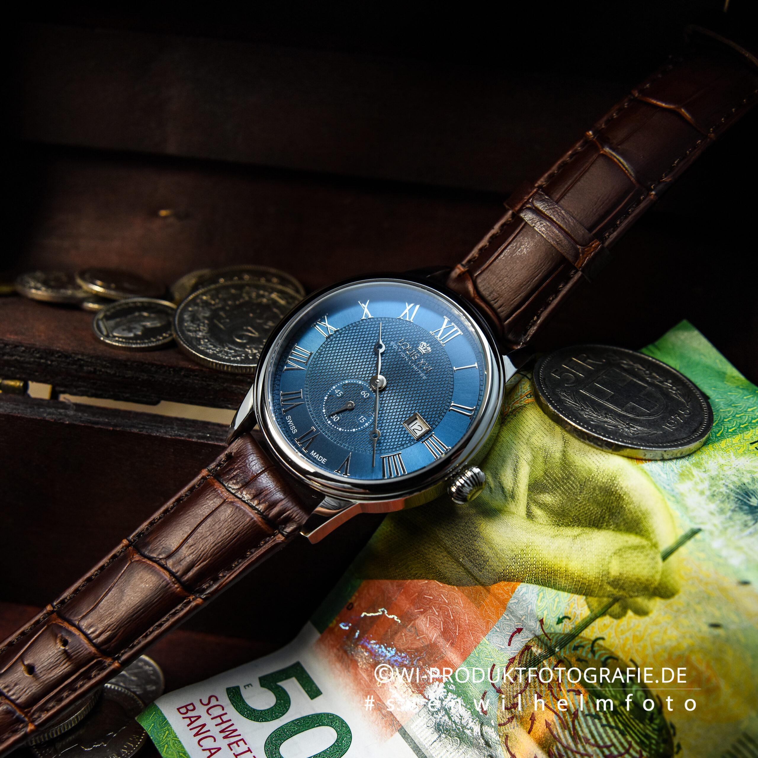 Uhrenfotograf LouisXVI Swiss made Uhren Fotograf Uhrenfotografie Professioneller Fotograf Uhren
