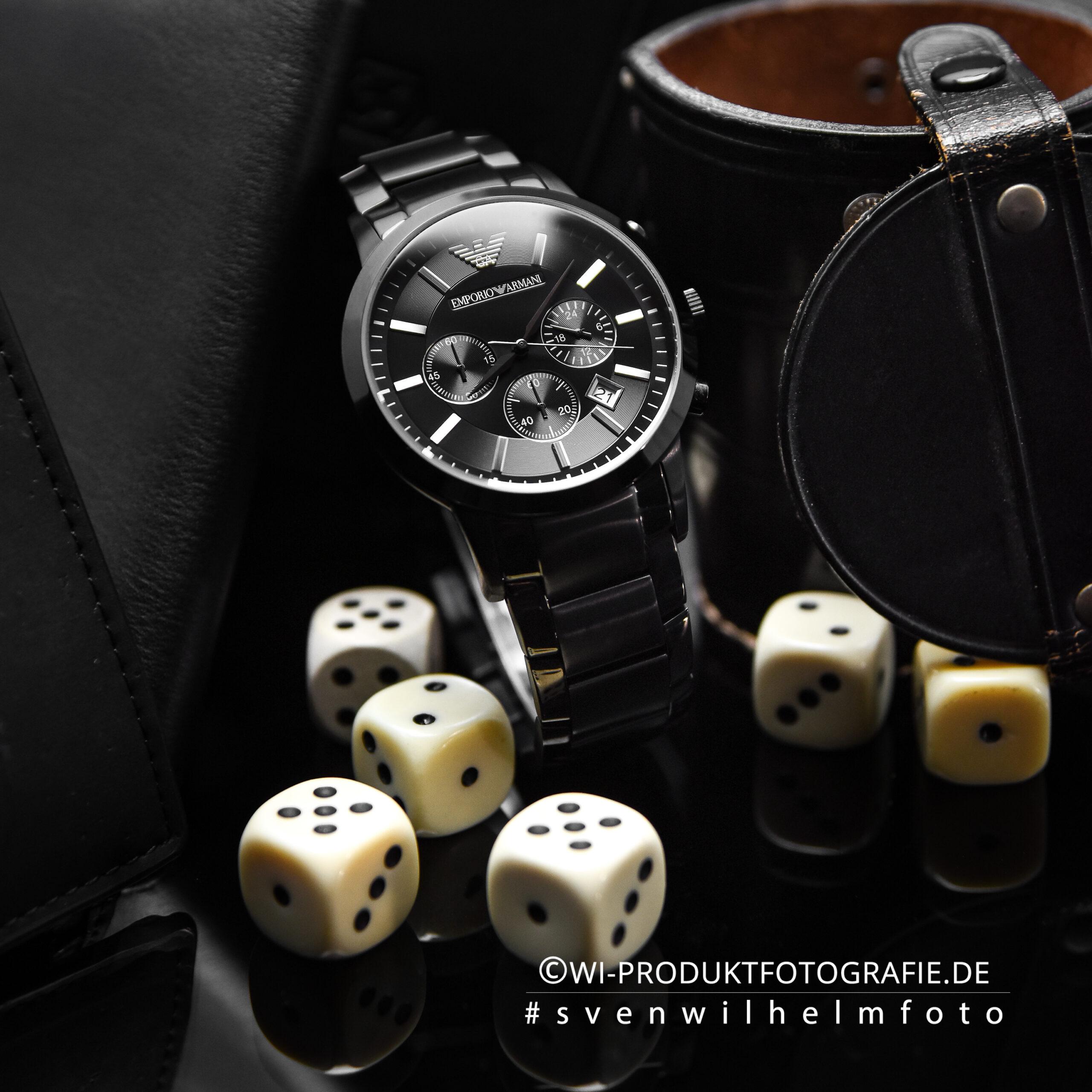 Uhrenfotograf Emporio Armani 4730 Uhren Fotograf Uhrenfotografie Professioneller Fotograf Uhren