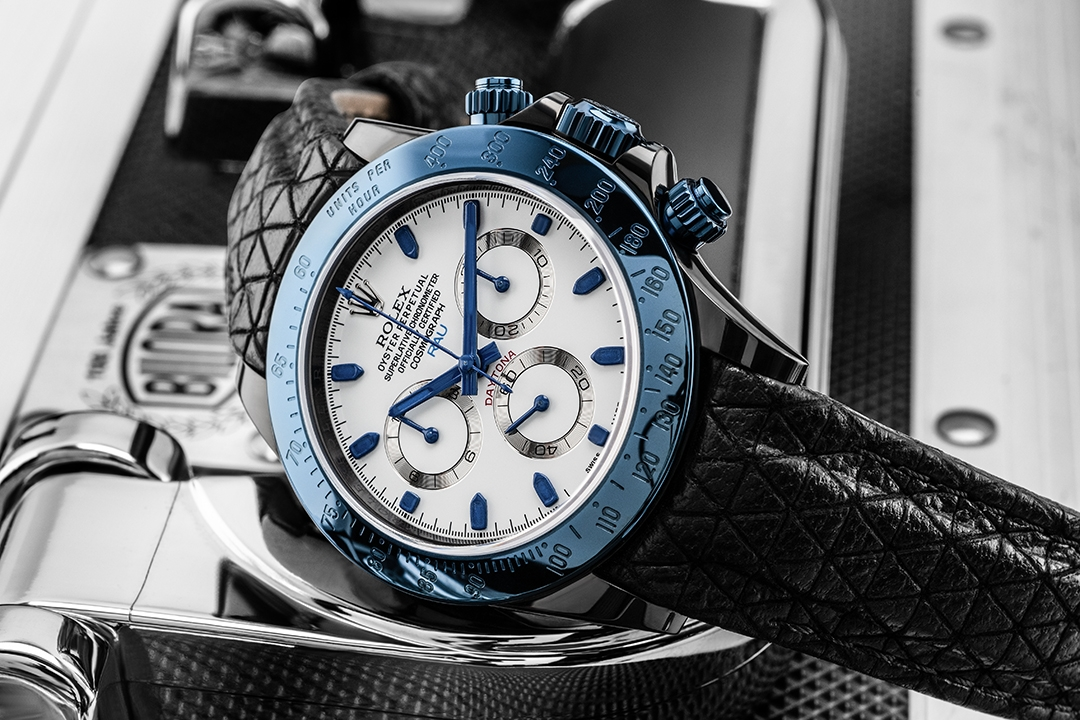 das-produktfoto-uhrenfotograf-Rolex-Daytona-Blau-uhrenfotografie-Spezialist